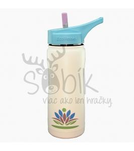 Termo fľaša so sosákom 500 ml biela. Eco Vessel e12dc592d14