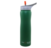 Termo fľaša so sosákom 670 ml zelená novinka. Eco Vessel fa9a3798a1c