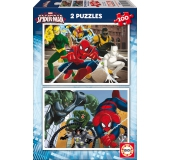 Puzzle - Ultimate Spiderman: 2 x 100 ks