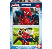 Puzzle - Ultimate Spiderman: 2 x 48 ks