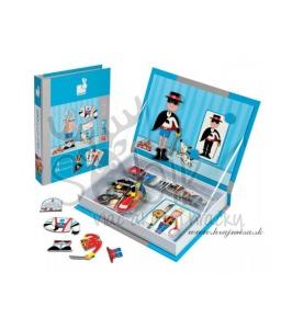 894a587172f5 Janod Magnetická kniha - Oblečenie chlapci