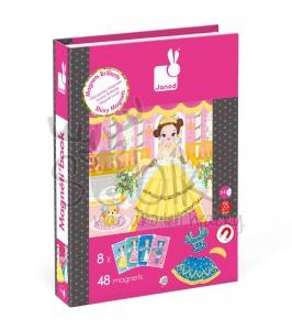 7243ae2d490e Janod Magnetická kniha - Princezné