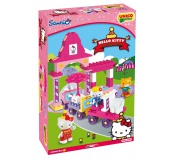 Stavebnica Hello Kitty - Fun Park Vláčik 51ks