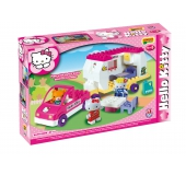 Stavebnica Hello Kitty - Karavan 47ks