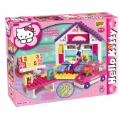 Stavebnica Hello Kitty - Škola 89ks